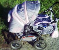 Подержанная детская коляска